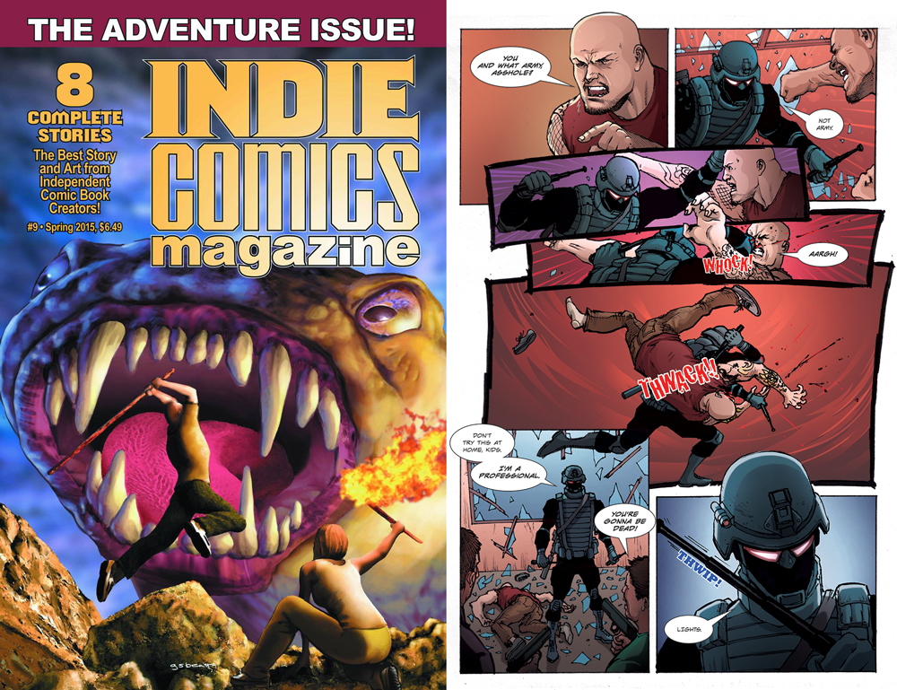 The Professional(s) Get Into Indie Comics Magazine   Ramon Gil